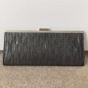 Gray metallic clutch